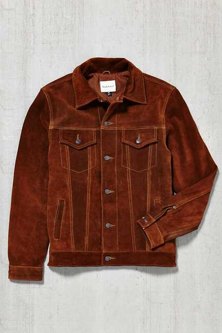 Deus Ex Machina Django Suede Jacket
