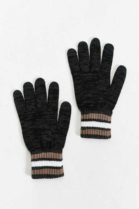 Athletic Stripe Touchscreen Glove