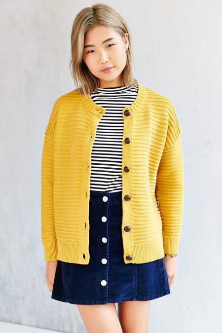 Cooperative Textured Stitch Cardigan