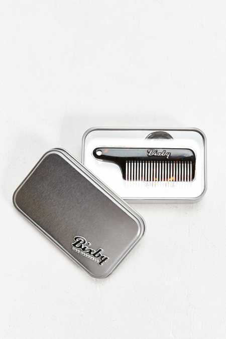 Bixby Key Chain Moustache Comb
