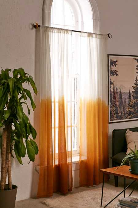 Assembly Home Dip-Dyed Curtain