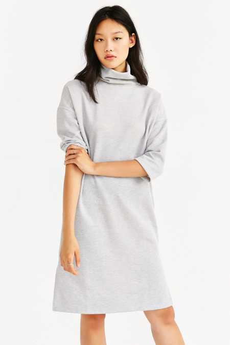 Silence + Noise Turtleneck Midi Dress