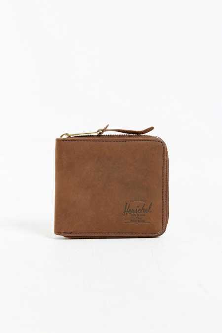 Herschel Supply Co. Walt Leather Zip Wallet