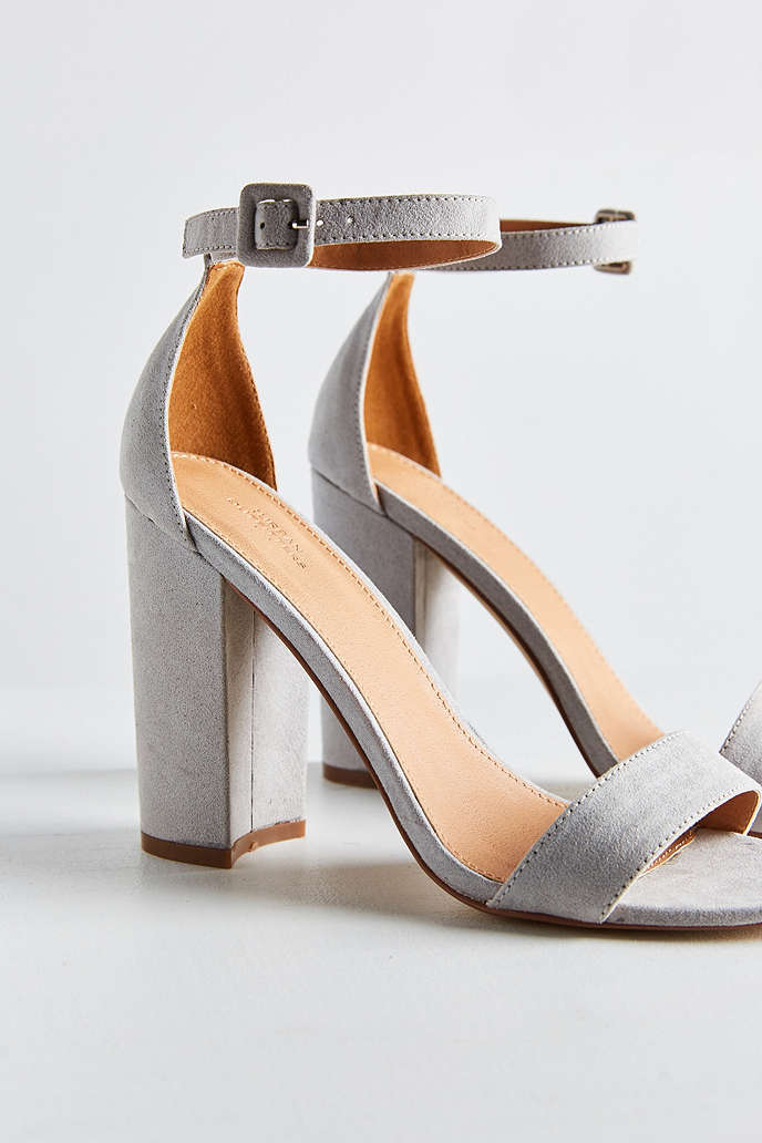 Thin Ankle Strap Heel - Urban Outfitters