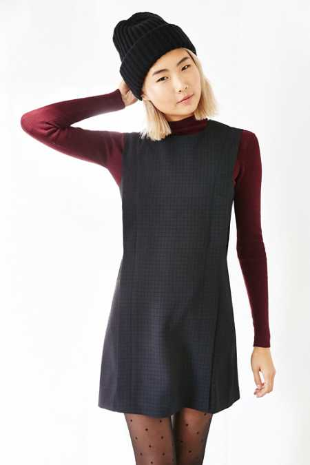 Silence + Noise Side-Tab Shift Dress
