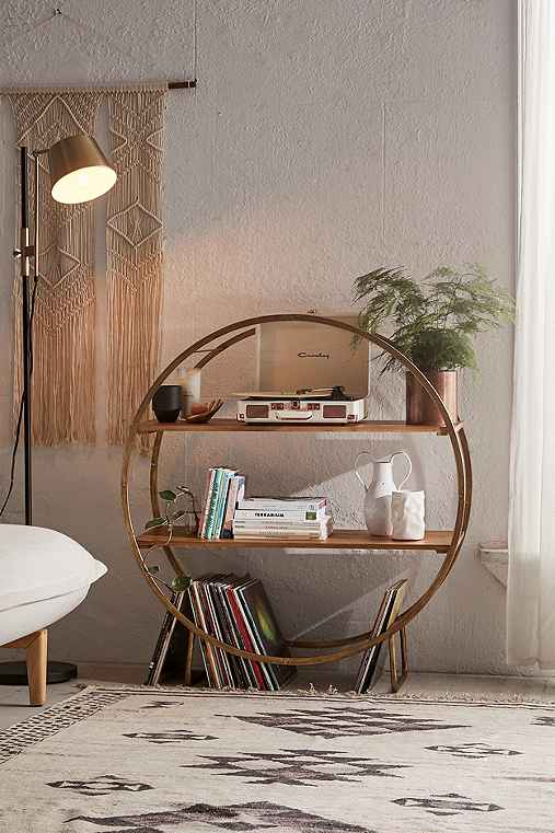 Brigid circle shelf urban outfitters for Bedroom ideas urban outfitters