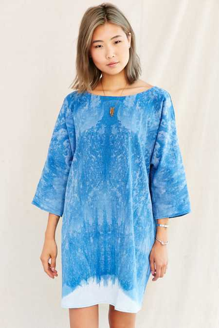 Riverside Tool & Dye Tunic Dress