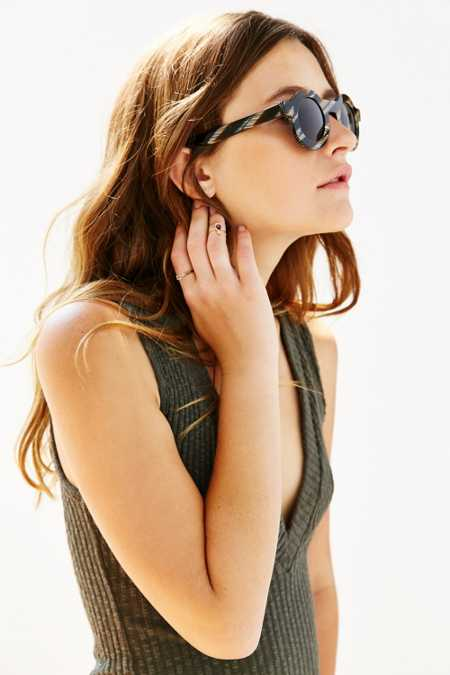 Dusen Dusen Circle Frame Sunglasses