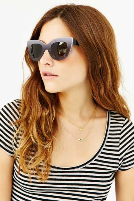 Dusen Dusen Triangle Frame Sunglasses