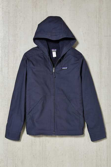 Patagonia Lined Canvas Hooded Jacket