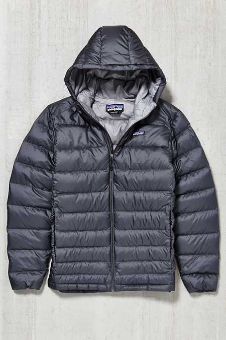 Patagonia Hi-Loft Quilted Down Hooded Jacket