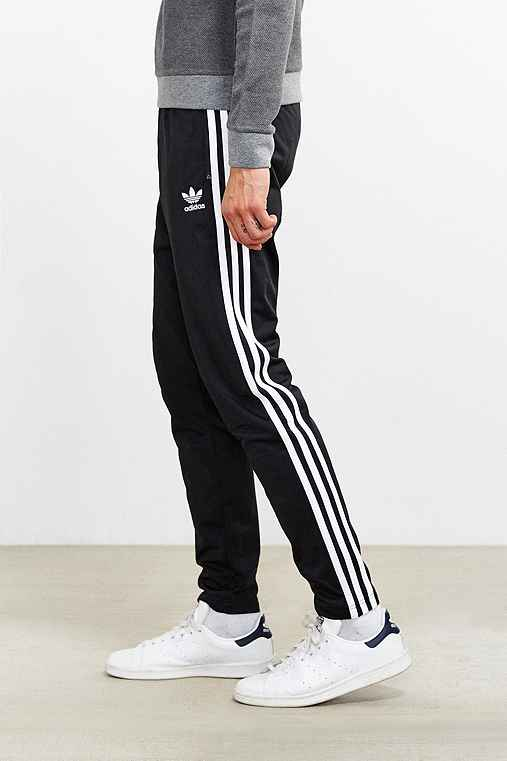 adidas Superstar Open Hem Track Pant,BLACK,L
