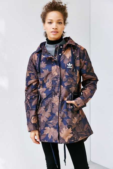 adidas Originals Leaf Camo Parka Jacket