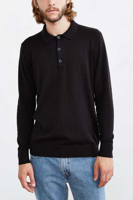 CPO Shroud Long-Sleeve Polo Sweater