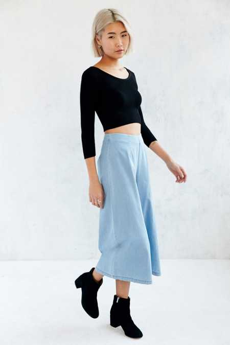 The Fifth Label City Safari High-Rise Culotte Pant