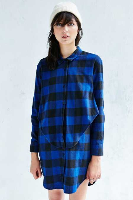 Cheap Monday Raw Flannel Dress