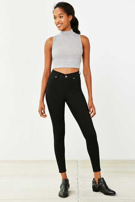 Cheap Monday Spray High-Rise Skinny Jean