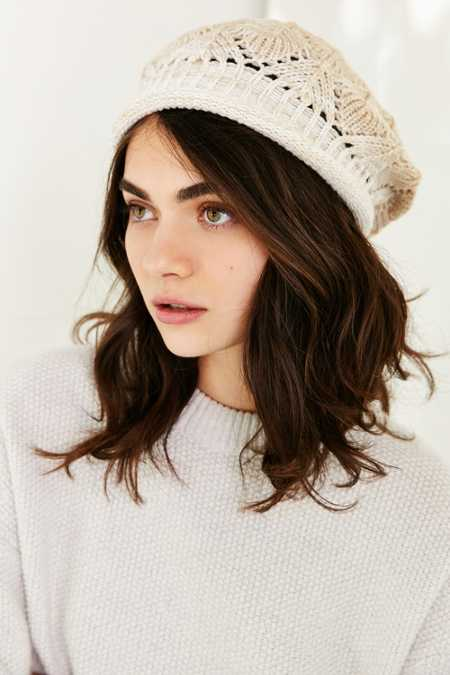 Ombre Rolled Edge Beret