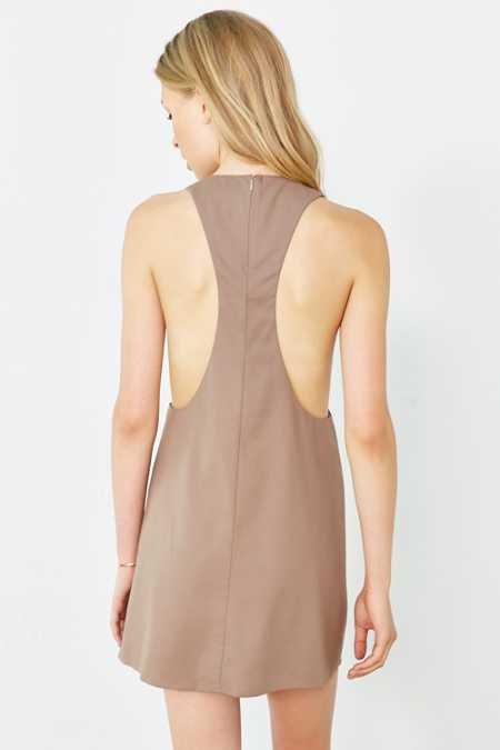 Cooperative Deep Racerback Frock Dress