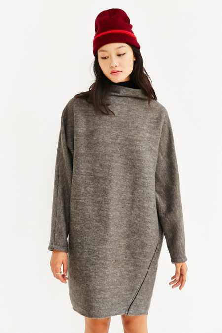 Silence + Noise Dylan Funnel Neck Dress