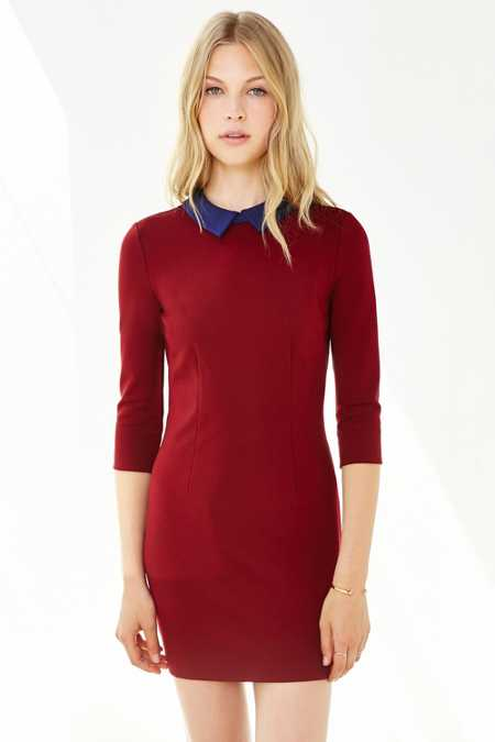 Cooperative Wednesday Collar Ponte Dress