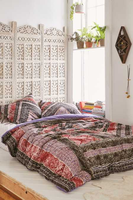 Magical Thinking Omani Worn Carpet Comforter