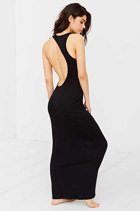 Out From Under Modern Cutaway Maxi Dress