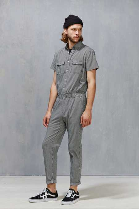 Standard Issue Striped Denim Coverall