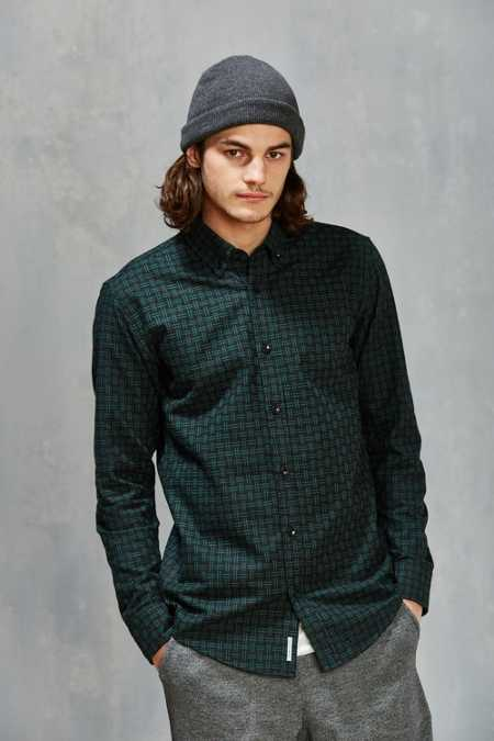 Publish Javi Basketweave Button-Down Shirt