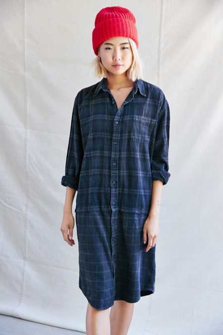 Urban Renewal Recycled Paired Flannel Dress