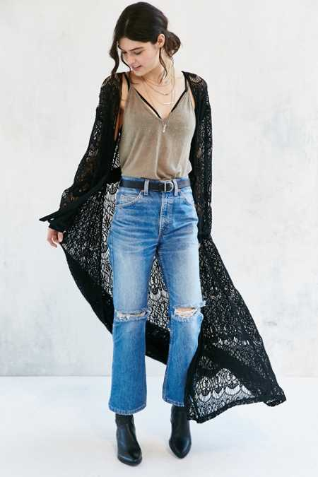 Somedays Lovin Runaway Lace Duster Jacket