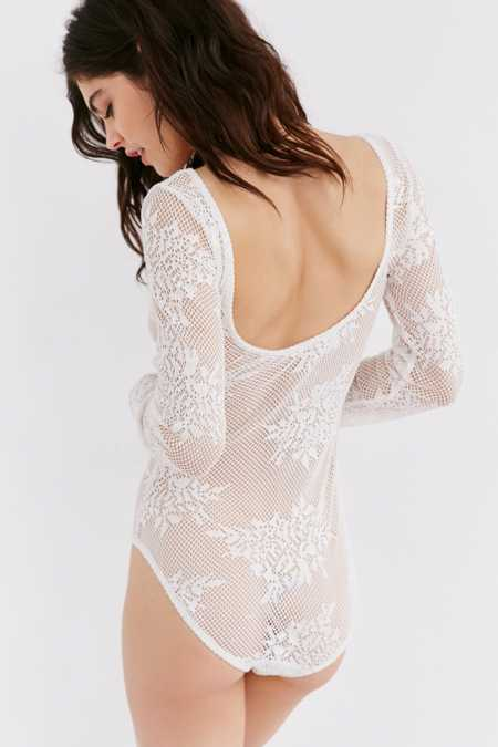 Out From Under Mesh Bodysuit