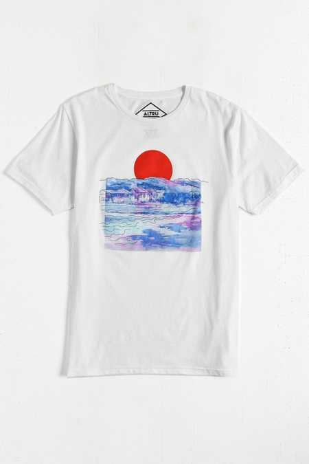 Altru Embroidered Rising Sun Tee