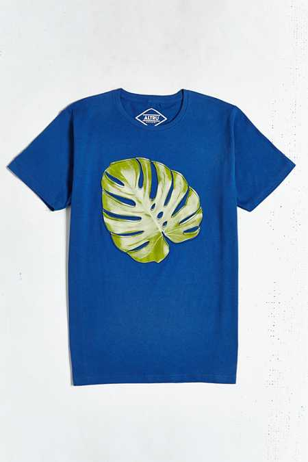 Altru Embroidered Leaf Tee