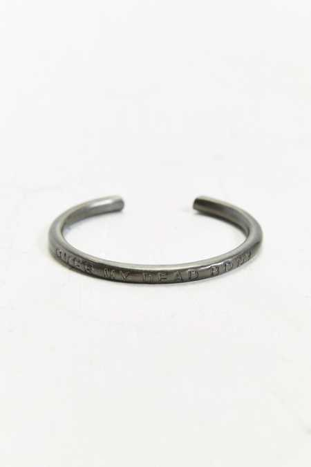 Cheap Monday Engraved Cuff Bracelet