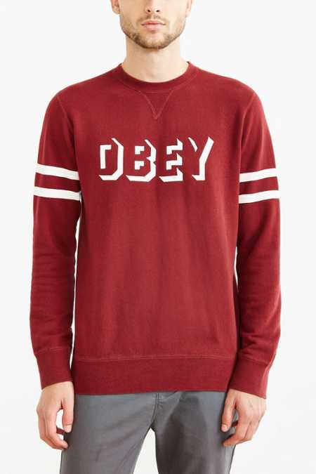 OBEY Dropout Stripe Sweatshirt