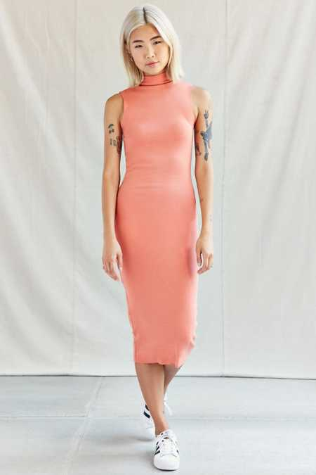 Urban Renewal Remade Mock Sleeveless Midi Dress