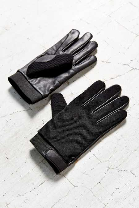 Leather Stretch Driving Glove