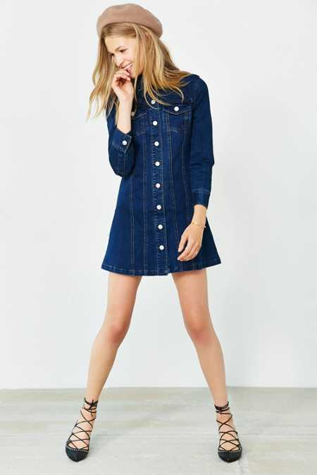 Cooperative Berkin Denim Mini Dress