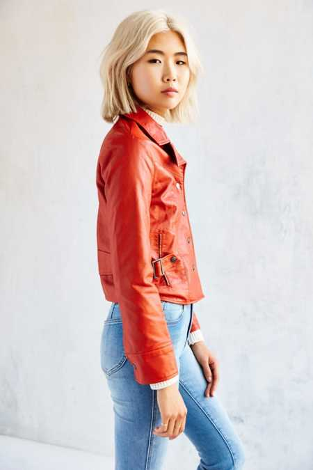 Ecote Lori Vegan Leather Jacket