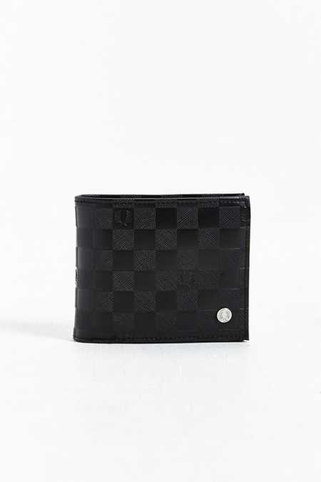 Fred Perry Checkerboard Billfold Wallet