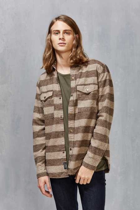 CPO Blanket Stripe Snap-Front Shirt