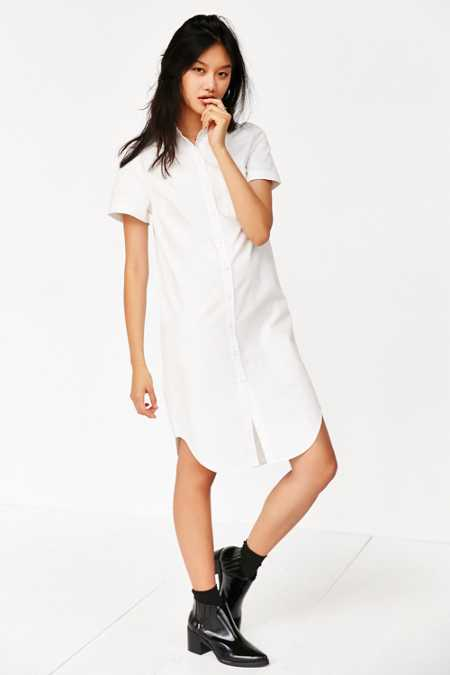 Third Space By Behno Poplin Shirt Dress