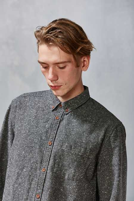 CPO Flecked Button-Down Shirt