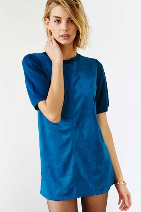 Glamorous Faux Suede Tunic