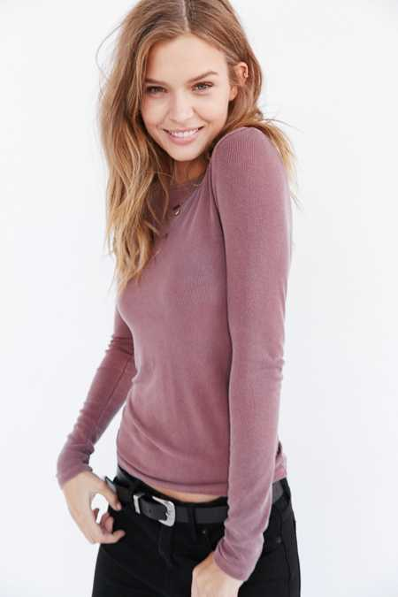 Truly Madly Deeply Callie Boatneck Top