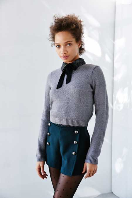 Cooperative Shrunken Crew Neck Sweater