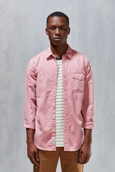 CPO Herringbone Button-Down Shirt