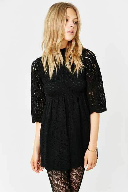 Motel Luella Lace Babydoll Dress