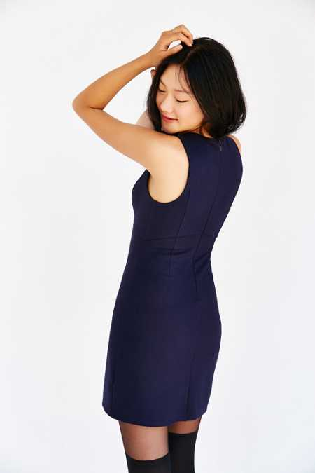 Cooperative Ponte Shift Dress